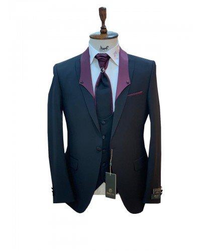 Мужской Торжественный костюм 3-ка DELMONT 6023-5 ТУРЦИЯ