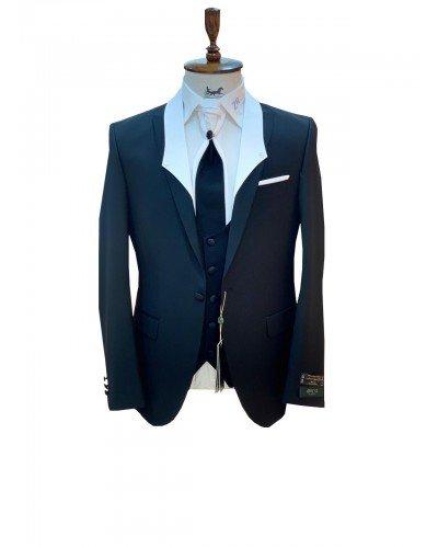Мужской Торжественный костюм 3-ка DELMONT 6023-4 ТУРЦИЯ