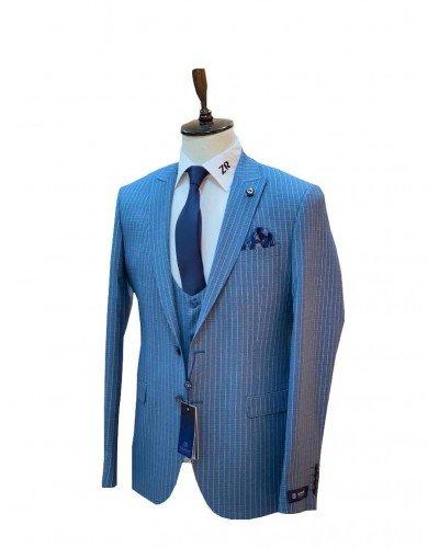 Мужской костюм 3-ка DELMONT 2611-6 ТУРЦИЯ