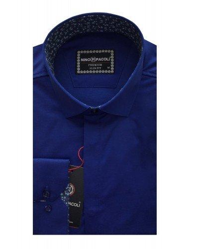 Мужская рубашка длинный рукав NINO PACOLI 7044CR_SATIN(2) ТУРЦИЯ