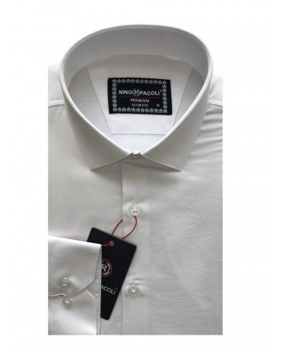 Мужская рубашка длинный рукав NINO PACOLI 3030CR_SATIN(2) ТУРЦИЯ