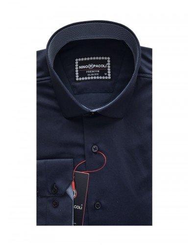 Мужская рубашка длинный рукав NINO PACOLI 3032CR_SATIN(3) ТУРЦИЯ