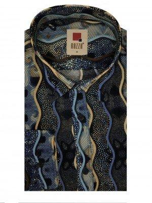 Мужская рубашка длинный рукав RAZZA MT9718_700 ТУРЦИЯ