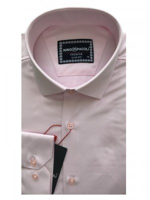 Мужская рубашка длинный рукав NINO PACOLI 3030CR_SATIN(5) ТУРЦИЯ