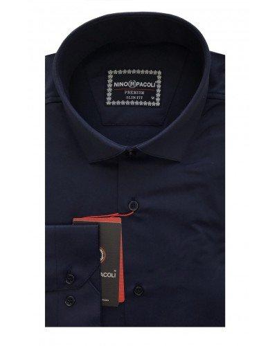 Мужская рубашка длинный рукав NINO PACOLI 3030CR_SATIN(6) ТУРЦИЯ
