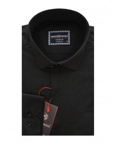 Мужская рубашка длинный рукав NINO PACOLI 7045CR_SATIN(2) ТУРЦИЯ
