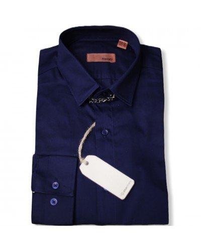 Мужская рубашка длинный рукав PLUSNINETY PN7076-M ТУРЦИЯ