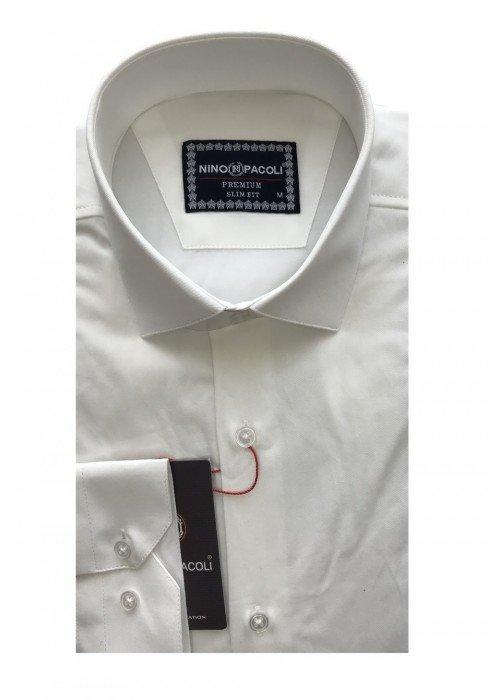 Мужская рубашка длинный рукав NINO PACOLI 3030CR_SATIN(7) ТУРЦИЯ