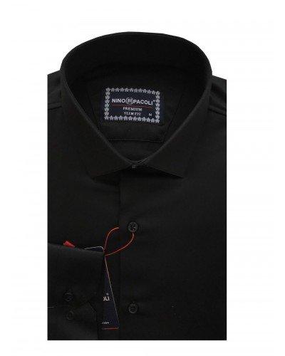 Мужская рубашка длинный рукав NINO PACOLI 3033CR_SATIN(9) ТУРЦИЯ