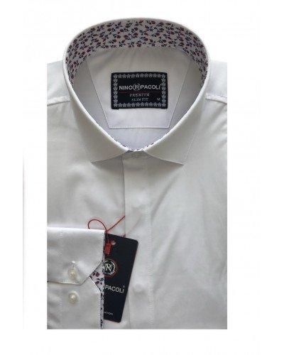 Мужская рубашка длинный рукав NINO PACOLI 7044CR_SATIN(8) ТУРЦИЯ