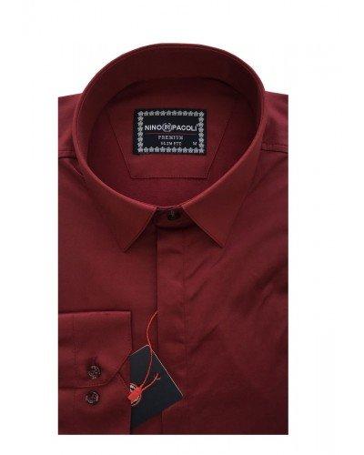 Мужская рубашка длинный рукав NINO PACOLI 7045CR_SATIN(3) ТУРЦИЯ