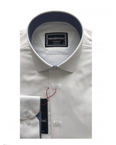 Мужская рубашка длинный рукав NINO PACOLI 3032CR_SATIN(9) ТУРЦИЯ