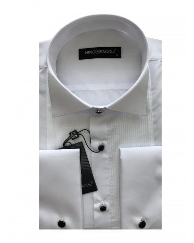 Мужская торжественная рубашка длинный рукав NINO PACOLI 2018CR_SATIN(2) ТУРЦИЯ