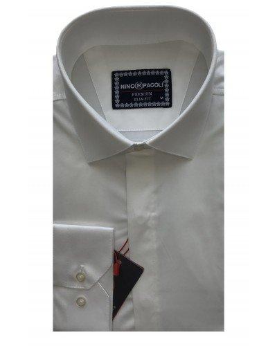 Мужская рубашка длинный рукав NINO PACOLI 7045CR_SATIN(5) ТУРЦИЯ