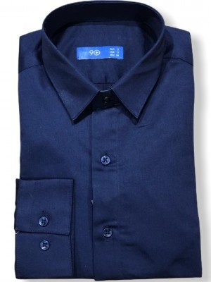 Мужская рубашка длинный рукав PLUSNINETY PN7073-M ТУРЦИЯ