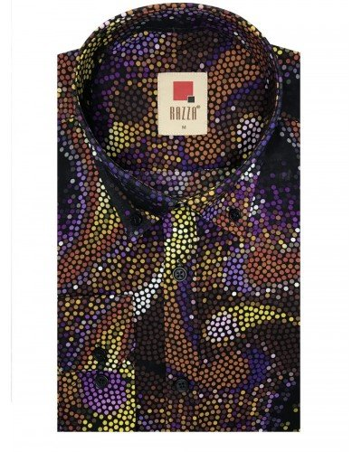 Мужская рубашка длинный рукав RAZZA MT9718_600 ТУРЦИЯ