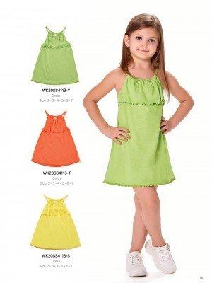 Платье на девочку WONDER KIDS 4113-Y ТУРЦИЯ