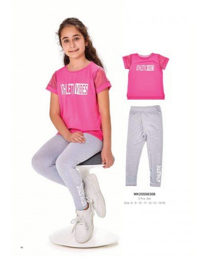Комплект 2-ка на девочку WONDER KIDS 6306 ТУРЦИЯ