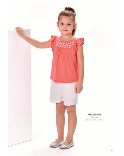 Комплект 2-ка на девочку WONDER KIDS 4103 ТУРЦИЯ