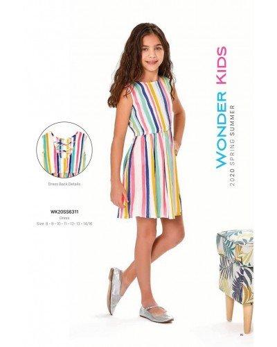 Платье на девочку WONDER KIDS 6311 ТУРЦИЯ