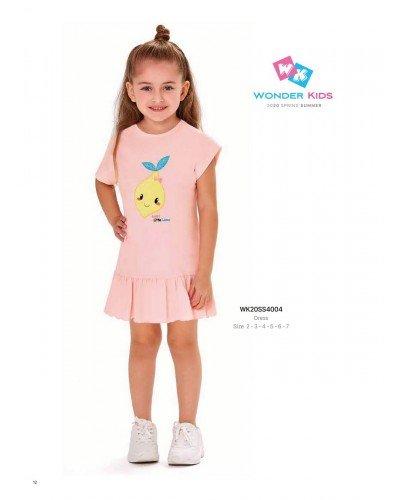 Платье на девочку WONDER KIDS 4004 ТУРЦИЯ