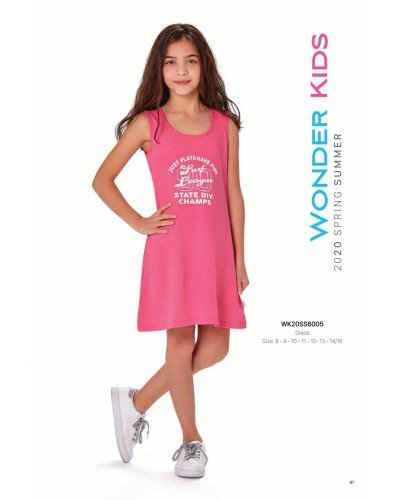 Платье на девочку WONDER KIDS 6005 ТУРЦИЯ
