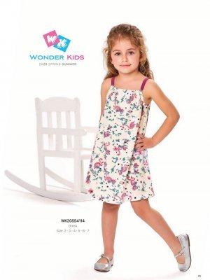 Платье на девочку WONDER KIDS 4114 ТУРЦИЯ