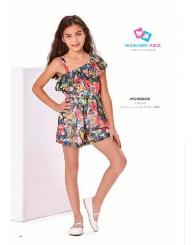 Комбинезон на девочку WONDER KIDS 6318 ТУРЦИЯ