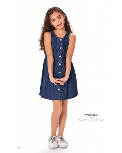 Платье на девочку WONDER KIDS 6372 ТУРЦИЯ