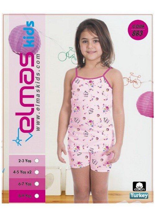 Пижама на девочку ELMAS KIDS 883 ТУРЦИЯ