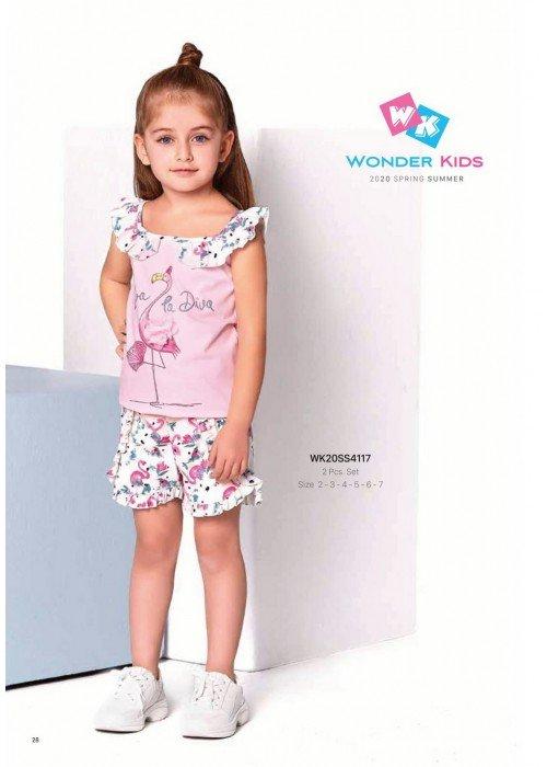 Комплект 2-ка на девочку WONDER KIDS 4117 ТУРЦИЯ