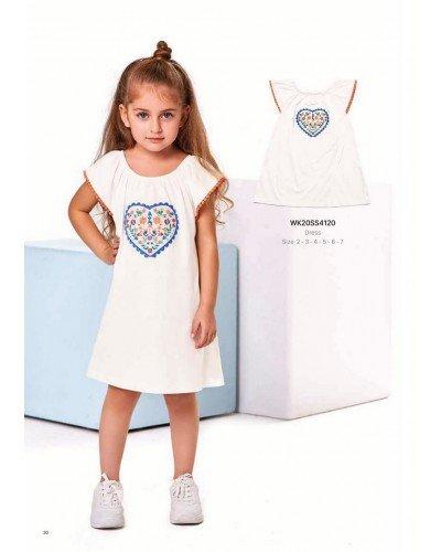 Платье на девочку WONDER KIDS 4120 ТУРЦИЯ