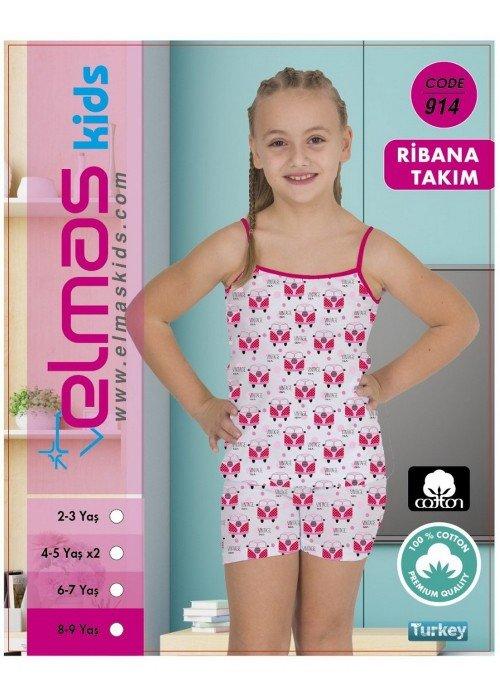 Пижама на девочку ELMAS KIDS 914 ТУРЦИЯ