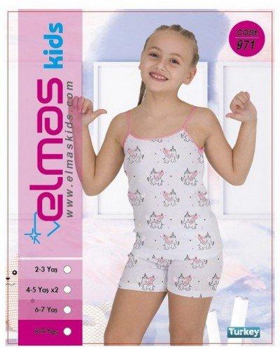 Пижама на девочку ELMAS KIDS 971 ТУРЦИЯ