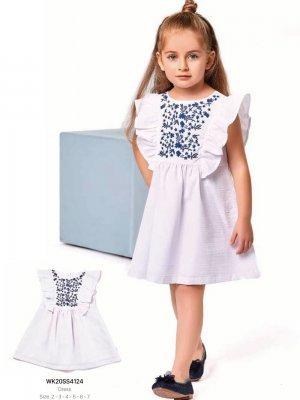 Платье на девочку WONDER KIDS 4124 ТУРЦИЯ