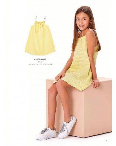 Платье на девочку WONDER KIDS 6365 ТУРЦИЯ