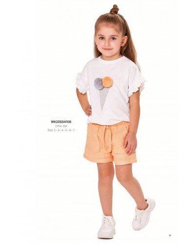Комплект 2-ка на девочку WONDER KIDS 4108 ТУРЦИЯ