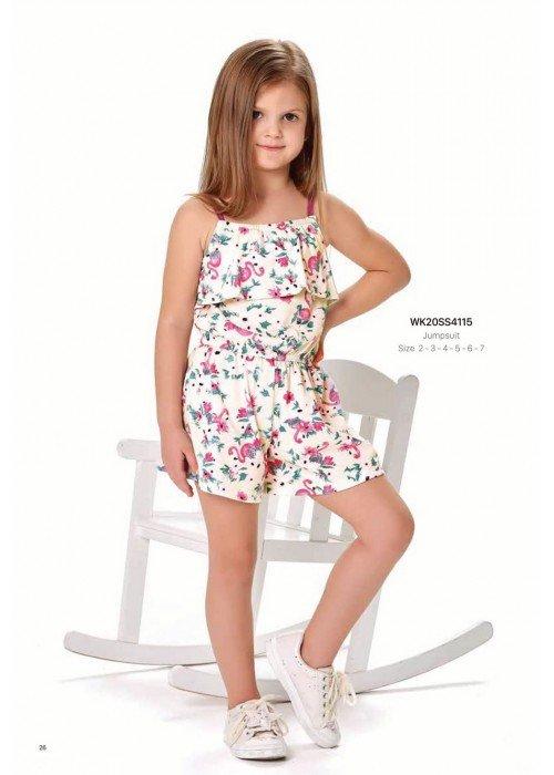 Комбинезон на девочку WONDER KIDS 4115 ТУРЦИЯ
