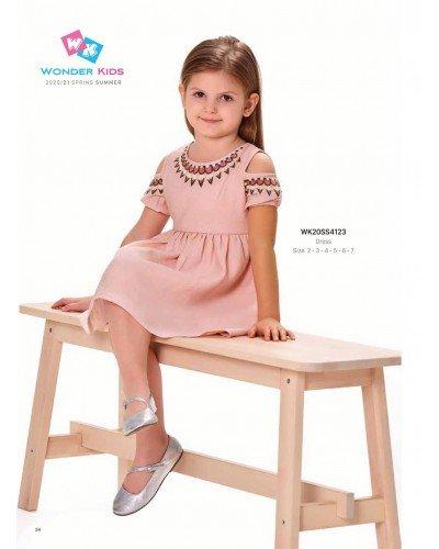 Платье на девочку WONDER KIDS 4123 ТУРЦИЯ
