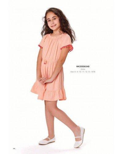 Платье на девочку WONDER KIDS 6349 ТУРЦИЯ