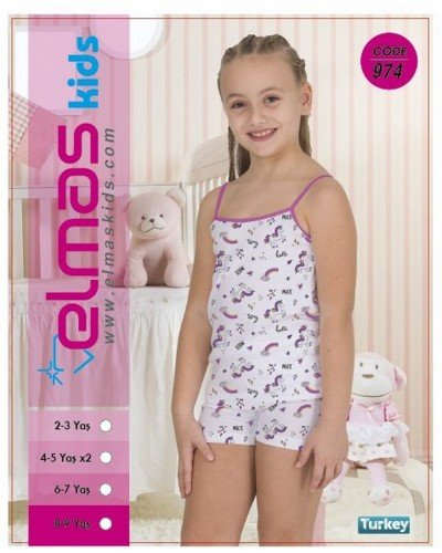 Пижама на девочку ELMAS KIDS 974 ТУРЦИЯ