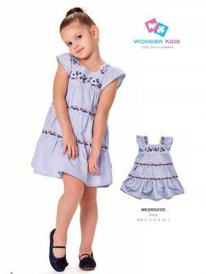 Платье на девочку WONDER KIDS 4125 ТУРЦИЯ