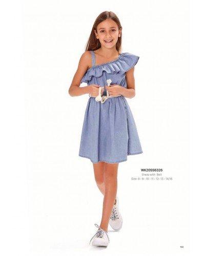 Платье на девочку WONDER KIDS 6326 ТУРЦИЯ
