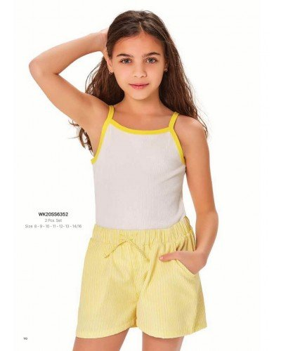 Комплект 2-ка на девочку WONDER KIDS 6352 ТУРЦИЯ