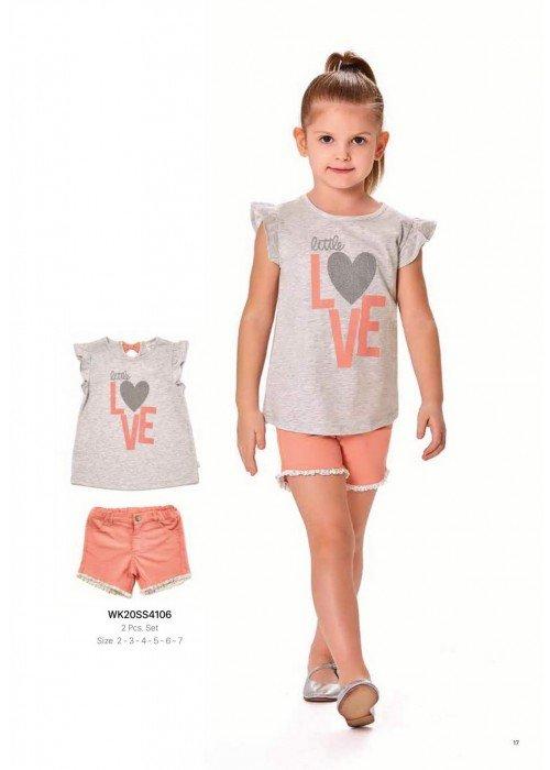 Комплект 2-ка на девочку WONDER KIDS 4106 ТУРЦИЯ