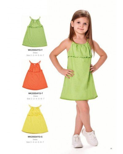 Платье на девочку WONDER KIDS 4113-S ТУРЦИЯ