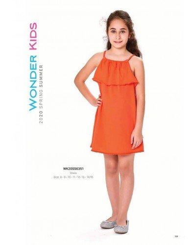 Платье на девочку WONDER KIDS 6351 ТУРЦИЯ