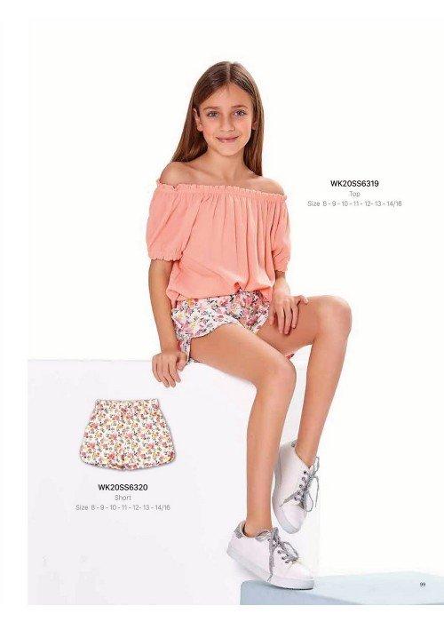 Блузка на девочку WONDER KIDS 6368 ТУРЦИЯ