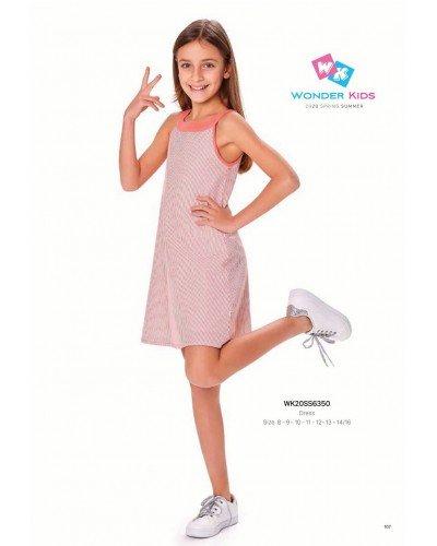 Платье на девочку WONDER KIDS 6350 ТУРЦИЯ