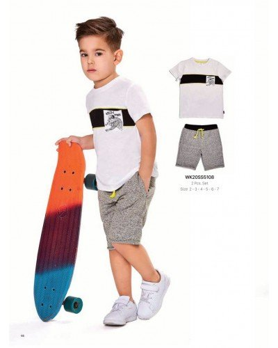 Комплект 2-ка на мальчика WONDER KIDS 5108 ТУРЦИЯ